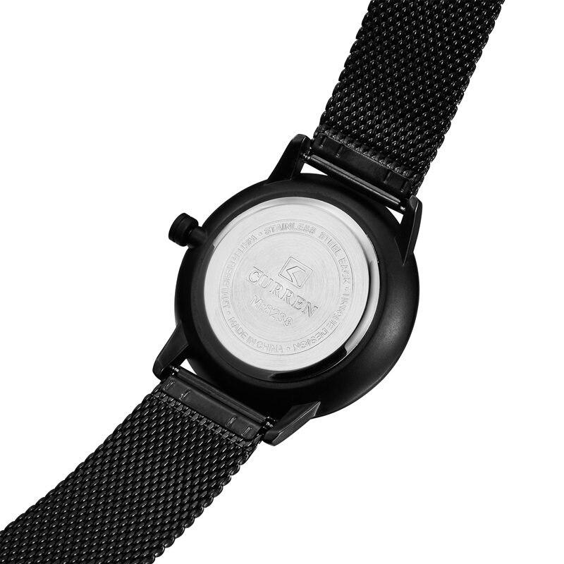 d57b6502acf Relogio Masculino Curren Watch Men Brand Luxury Steel Waterproof ...