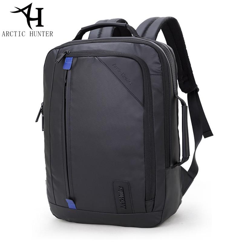 ARCTIC HUNTER Multifunction waterproof backpack men 15.6 inch laptop backpacks Business travel back pack & Hand bag Dual use michael kors new navy blue women s size xs studded hi low crewneck sweater $130