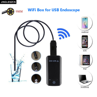 Newest 9mmWaterproof Mini USB Endoscope Inspection Camera HD 6 Led Snake Camera Endoscope USB Video Endoscope