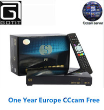 2016 Solovox V8 S-V8 HD Satellite Receiver With 1 Year Free CCCAM Europe Support Card Sharing CCcam NEWcam MGcam DVB-S2