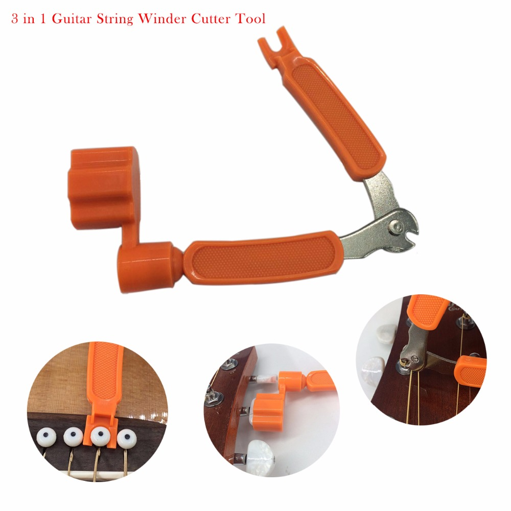 3 in 1 guitar string winder cutter guitar multi function tool for musical instruments bass. Black Bedroom Furniture Sets. Home Design Ideas
