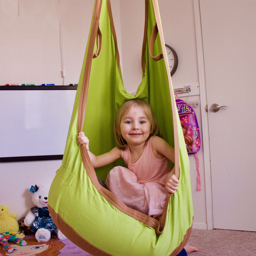 Outdoor Children Brand Hammock Garden Furniture Swing Chair Indoor Hanging Seat Child Swing Seat Lifts Patio Furniture