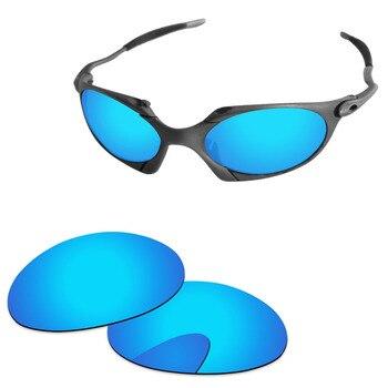 d354871f51 Lentes de repuesto polarizadas de espejo azul hielo para gafas de sol Romeo  1 Marco 100% Protección UVA y UVB