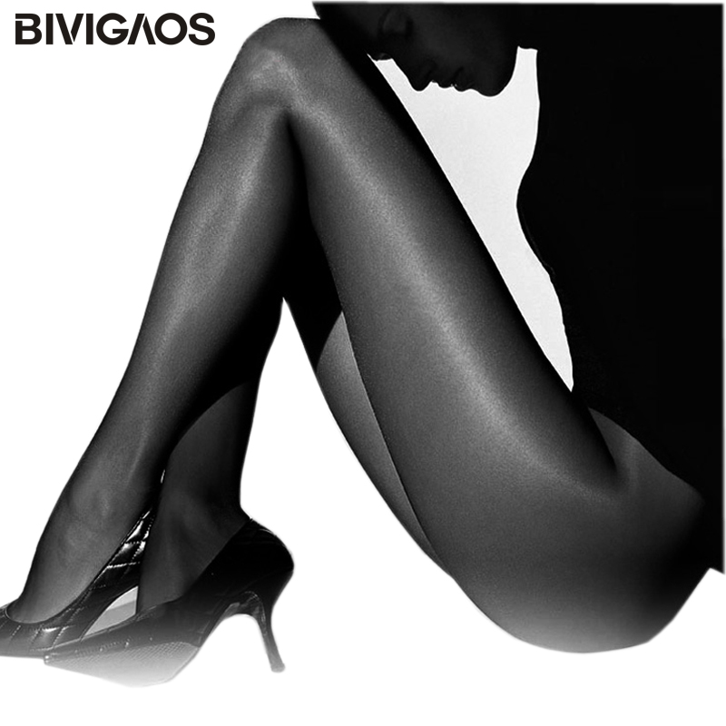 BIVIGAOS Summer Super Elastic Magical Tights Women Collant Sexy Silk Punčochy Anti-hook Thin Pantyhose Medias Sexy Nylons Women