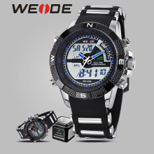 WEIDE luxury brand watches quartz camping shockproof waterproof sport watches men military Silicone digital analog clock table weide steel series watches 2017 luxury brand sport led digital shockproof waterproof watch black quartz watches role clock 6102