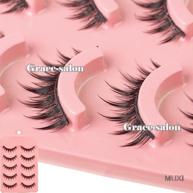 Acrylic Series Fashion Makeup Natural False Eye Lashes Long Thick Eyelashes Long 1