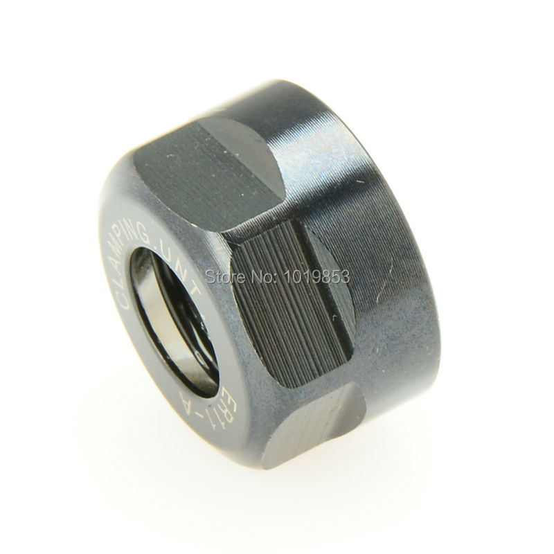 1Pcs ER11 Clamping Nut Chuck Holder Clamping Nut for ER11 Collet Tool Handle Tool Lever 黑色2