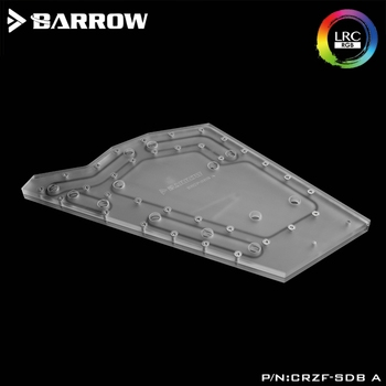 Barrow CRZF-SDBV2/CRZF-SDB A Waterway Boards For Cougar Conquer Case For Intel CPU Water Block & Single/Double GPU Building