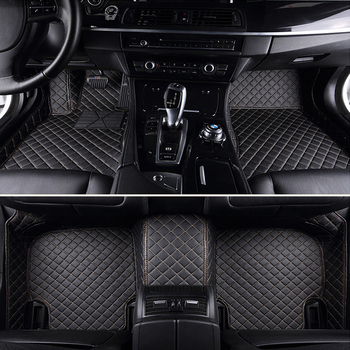Car floor mats for Honda Civic 8th 9th 10th generation 5D all weather car-styling carpet rugs floor liners(2005-)