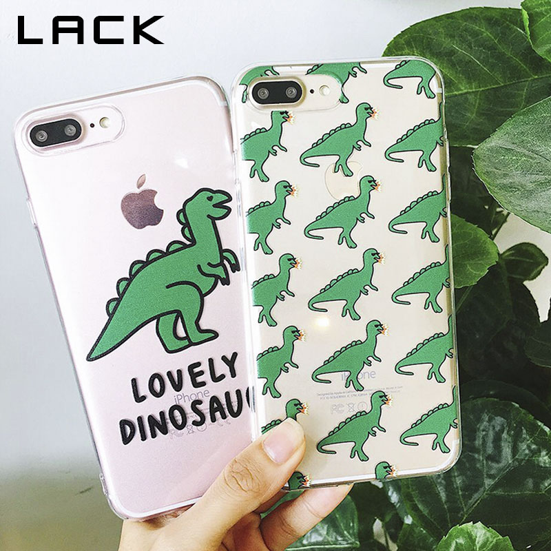 LACK Cute Cartoon Dinosaur Phone Case For iphone X Case