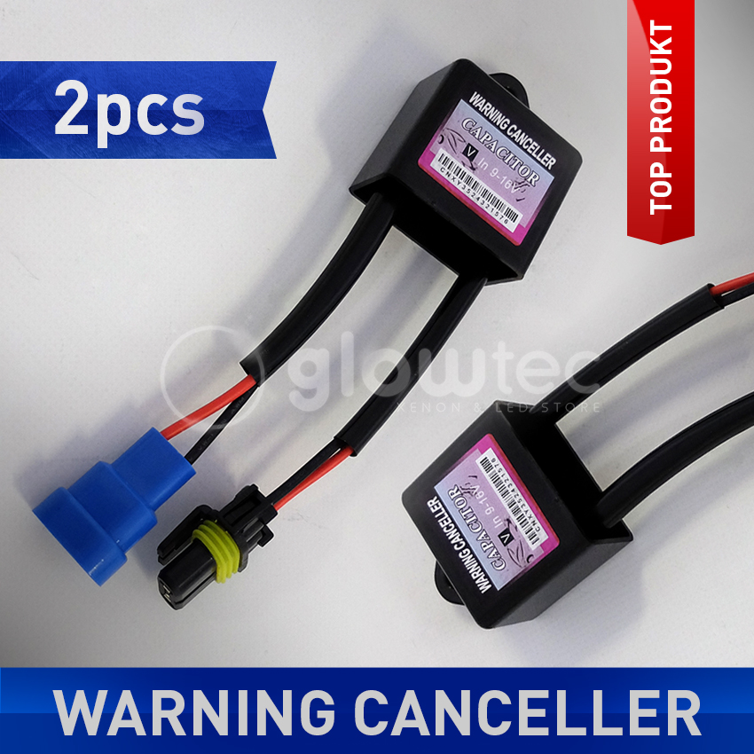 2PCS CanBus Warning No Error Free Capacitor Resistor Decoder FOR HID Xenon Kit