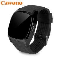 Cawono T8 Apoyo TF Tarjeta SIM Bluetooth Reloj Inteligente Con Cámara se divierte el Reloj Reproductor de Música para Apple Android VS M26 DZ09 A1