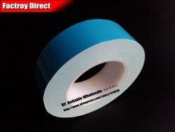 (Толщина 0,25 мм) 50 мм * 25 м Изолированная Теплопроводящая лента, двусторонний клей для теплоотвода, автомобильная светодиодная лента для тепл...