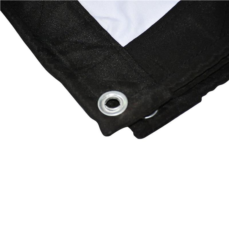 Thinyou 120-inch projectorscherm Edge 16: 9 wit gordijn Portable - Home audio en video - Foto 4
