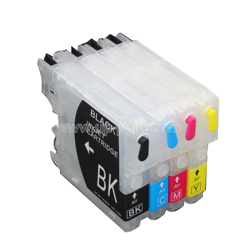 10setsLC65 LC67 LC980 LC1100 Refillable ink Cartridge for Brother MFC5890CN 6490W 250C 290 DCP6690CW 165C 385C