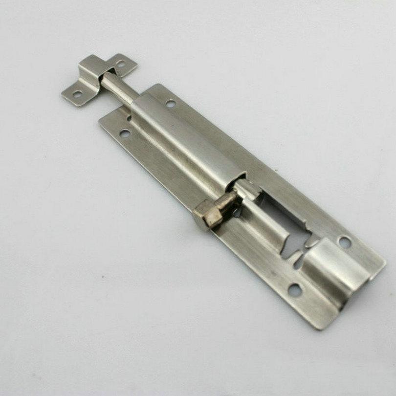 2inch50mm30mm width 7mm rod dia stainless steel 304 security flush door bolt door drop bolt door latch sliding lock type