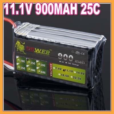 1pcs Lion Power 11 1V 900mah 25C 3S rc battery rc spare parts rc accessories rc
