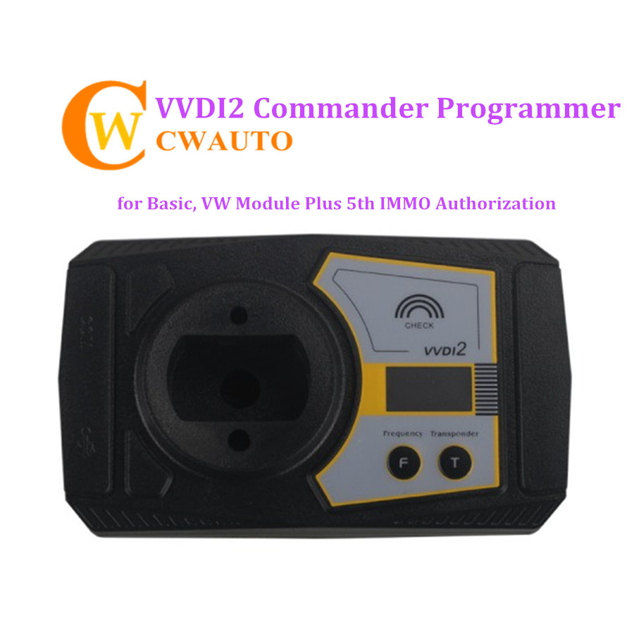 Xhorse VVDI2 Commander Key Programmer Basic Function and VW Module Plus 5th IMMO Authorization original xhorse vvdi2 commander key programmer with basic bmw and obd functions