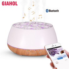 400ml Essential Oil Diffuser Ultrasonic Humidifier with Bluetooth Wireless Music Air Aroma perfect for Home Office
