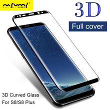 3D Full Cover for Galaxy S8 Glass for Samsung S8 Plus Screen Protector S 8 Plus Tempered Glas S8 Plus Protection Protective Film цена и фото