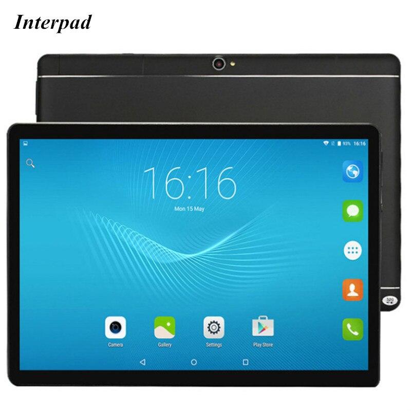 где купить 2018 NEW 10.1 inch Tablets MTK6753 Otca Core IPS 1920*1200 4G LTE Phone call 2GB DDR3 ROM 32GB 3G/4G Android tablets pc 7 8 9 10 по лучшей цене