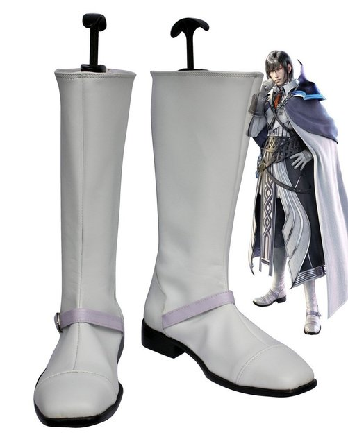 Final Fantasy XIII FF13 Cid Raines Cosplay Shoes Boots Custom Made