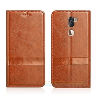 Vintage Genuine Leather Flip Stand Case For Letv LeEco Cool 1 Dual Coolpad Cool1 5 5