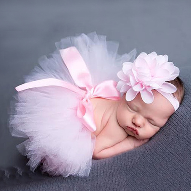 Fashion-2017-New-Style-Newborn-Baby-Girls-Clothes-Set-Newborn-Baby-Photography-Props-Kids-tutu-For-Girls-Skirt-And-Headwear-2
