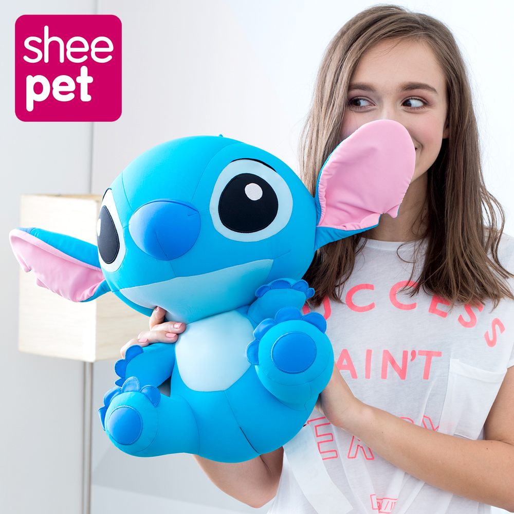 Sheepet Genuine Kawaii 43cm Stitch Plush Dolls Toys Stuffed Stich Animal for Kids Girlfriend Birthday Gift High Quality 1pcs 50cm stuffed dolls rubber duck hongkong big yellow duck plush toys hot sale best gift for kids girl