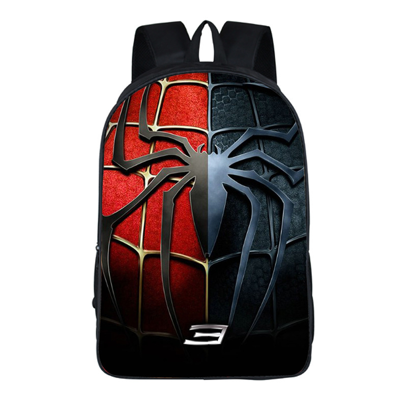 16 Inch Super cool! Promotions Spiderman 3D Children Boy's Backpack,Fashion Cartoon Spider-man School Bag 22 style high quality cool 3d spiderman cartoon plush school bag fashion cute backpack gift for children mochila infantil hot sale