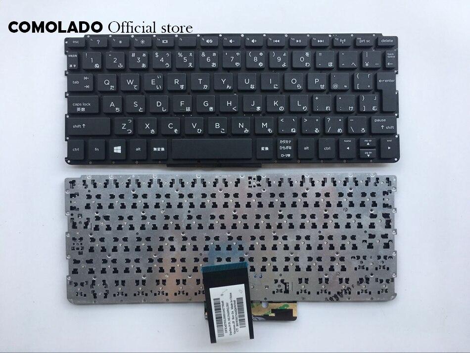 JP Japonês Teclado Do Laptop para HP PAVILION 10-E Win8 JP Layout Novo Notebook Teclado Preto Sem Moldura