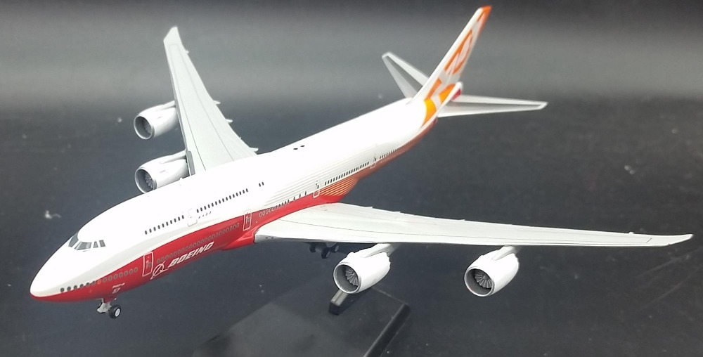 JC WINGS 1: 400 Boeing B747-8 aircraft model alloy Original Sunrise Painting Favorites Model jc wings 1 200 boeing 747 8 aircraft alloy model the simulation model alloy aircraft favorites model