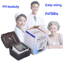 Sundhedspleje Automatisk håndled Blodtryksmonitor + Etui Digital LCD-håndled Cuff Blodtryksmåler Esfingomanometro Tonometer