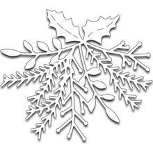 Winter Garland Tree Cutting Dies Stencil for DIY Scrapbooking Stamping Die Cut Paper Card Craft Knurling Embossing Die 2018 New