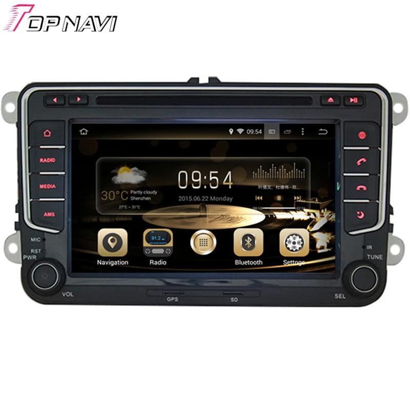 GPS de voiture Topnavi 7 ''Quad Core Android 6.0 pour VW PASSAT B6/MAGOTAN V6/PASSAT V6/MAGOTAN variante/PASSAT B7/PASSAT