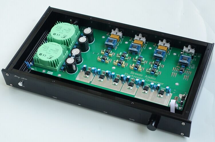 NEW Arrive Linkwitz Rayleigh Frequency Linkwitz-Riley Core 3 Frequency Sub Stage Preamp