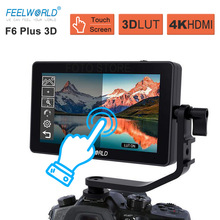 Feelworld F6 Plus Touch Screen Monitor 5.5 Inch Op Camera Dslr Field Monitor 3D Lut 1920X1080 4K hdmi Video Camera Monitor