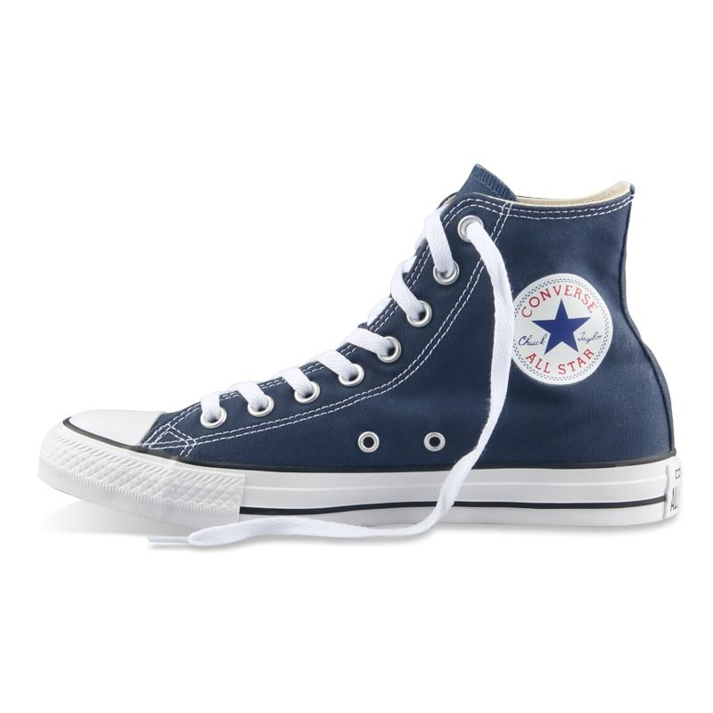 D'origine Converse all star chaussures hommes femmes sneakers toile chaussures tous les noir haute classique de Planche À Roulettes Chaussures livraison gratuite - 6