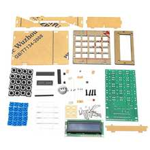 DIY Calculator Counter Kit Calculator DIY Kit LCD Multi purpose font b Electronic b font Calculator
