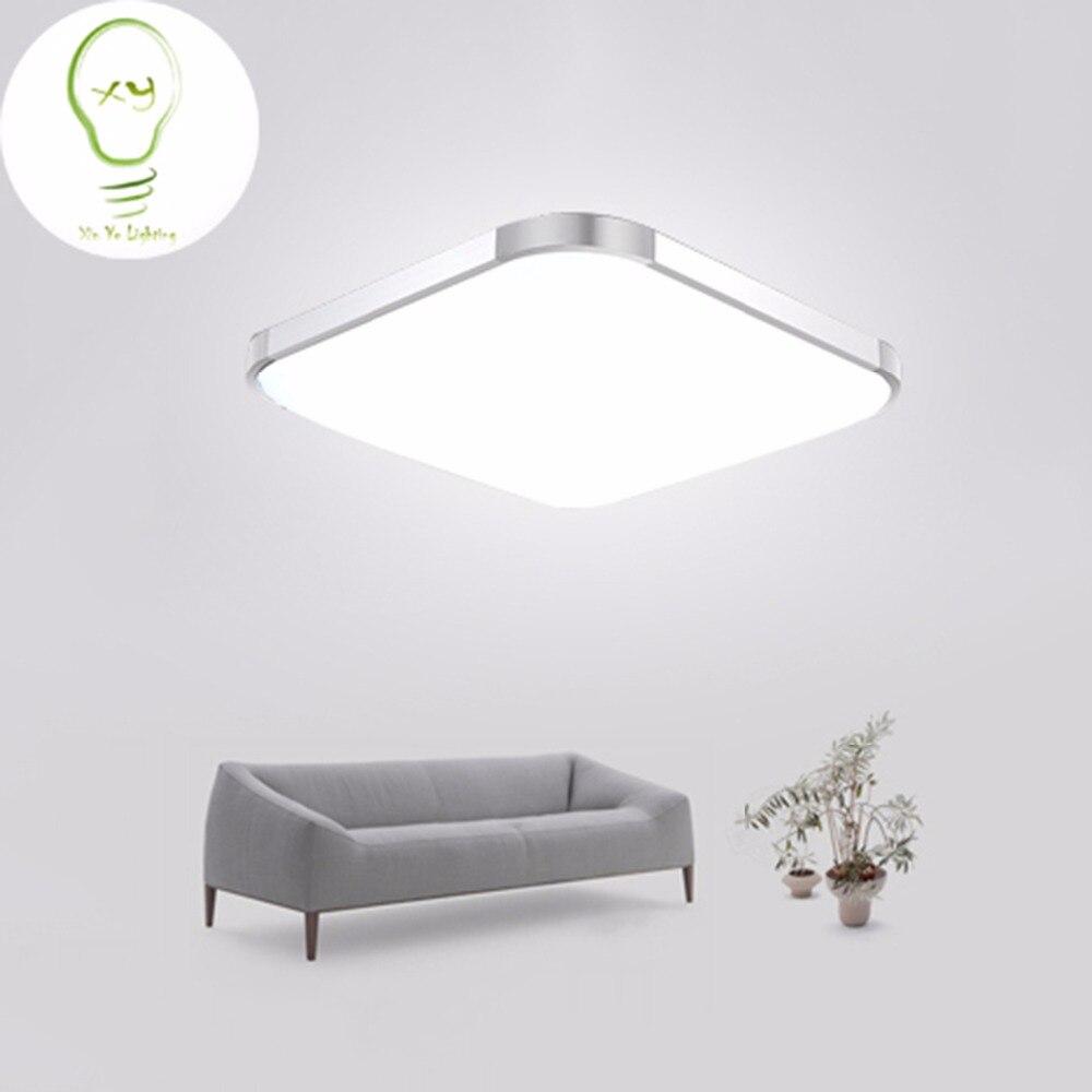 modern led apple ceiling light square 30cm 45cm 53cm 48w led ceiling lamp kitchen light bedroom. Black Bedroom Furniture Sets. Home Design Ideas