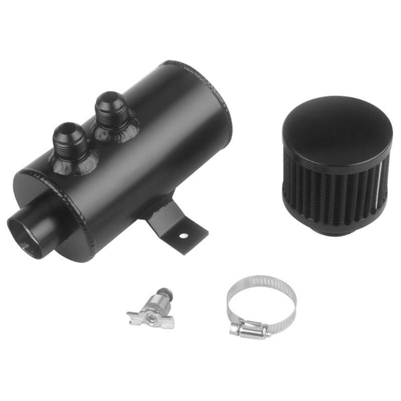 0.75L AN10 bouchon d'huile en aluminium peut réservoir réservoir avec filtre de reniflard