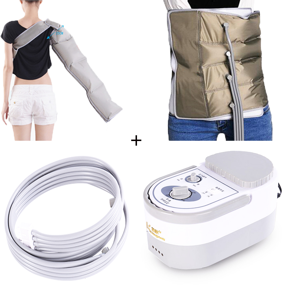 Electric air compression waist massager arm massage machine, promote blood circulation, relieve pain to relax body new arrival massage body health tools body slimming massager losing fat machine promote blood circulation