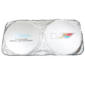 Image 1 - for Cadillac Car Windshield Cover Automobile Sunshade Shield for Windshield Visor Cover Summer Front Window Windscreen Cover