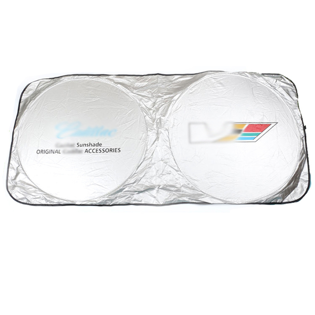 for Cadillac Car Windshield Cover Automobile Sunshade Shield for Windshield Visor Cover Summer Front Window Windscreen Cover