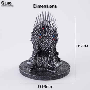 Game of Thrones Iron Throne Wakanda Collection figure Home Decoration statues Creative Game Model Phone Holder Kids Gift