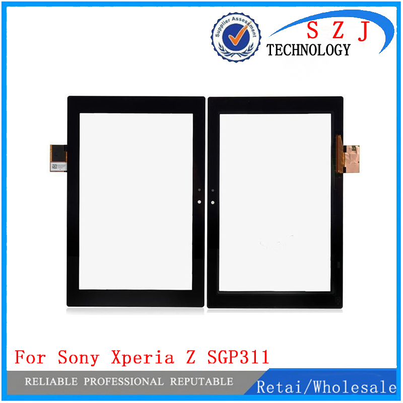 New 10.1'' inch case For Sony Xperia Z SGP311 SGP312 SGP321 Touch Screen Panel Digitizer Glass Lens Sensor Repair Replacement hobby