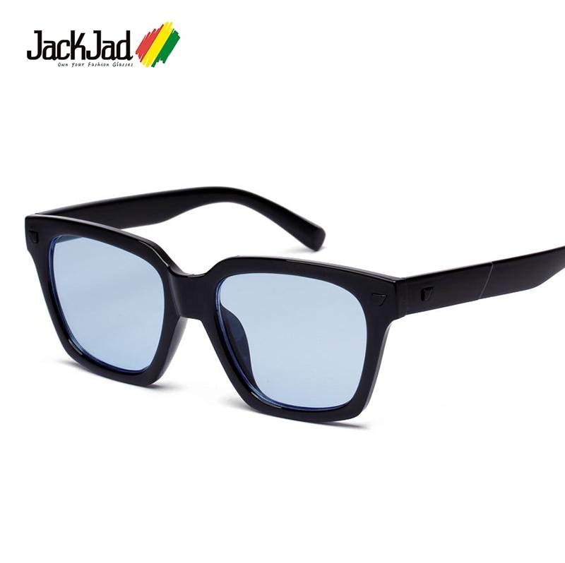 Jackjad 2017 nueva moda lente del océano del tinte cuadrado fresco ...