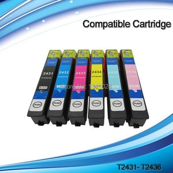 INK WAY 20 PACK T2421 - T2426 T2431-T2436 T2771-T2776 T2781-T2786 Compatible ink cartridge for XP750 XP850 XP950,20PCS,3SETS+2BK