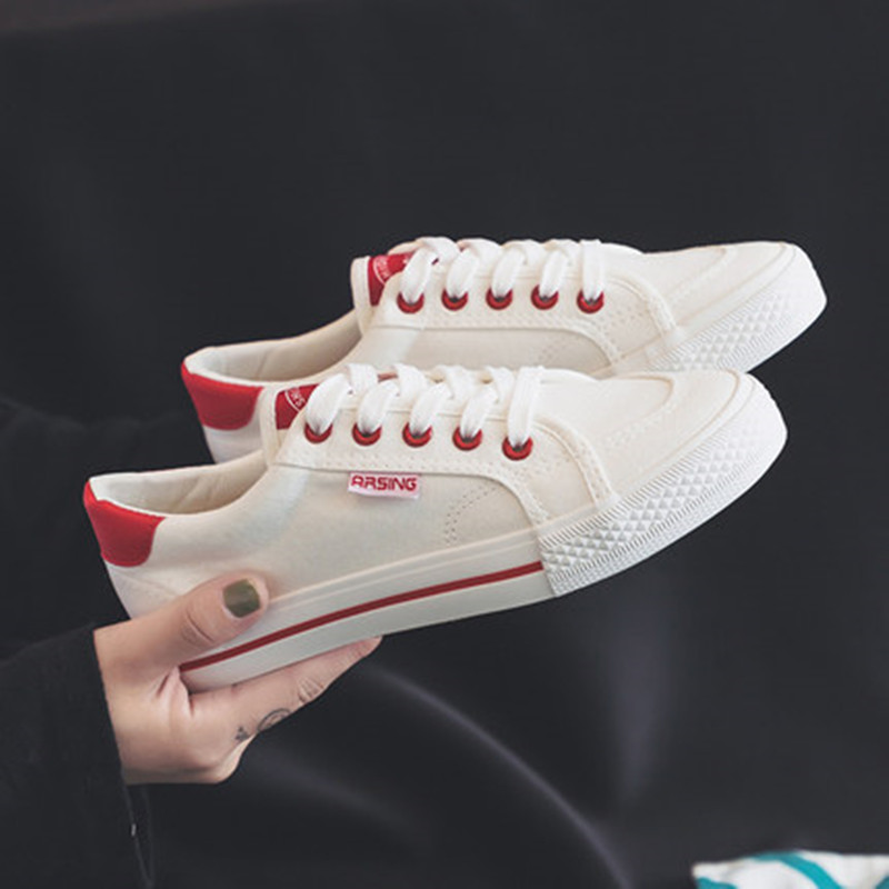 Women Casual Shoes 2018 Spring Autumn New Canvas Sh