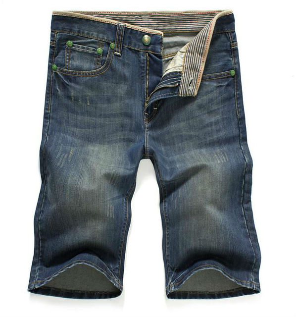 Wholesale and retail jeans men middle pants of spring and summer